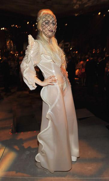 Lady Gaga in Francesco Scognamiglio