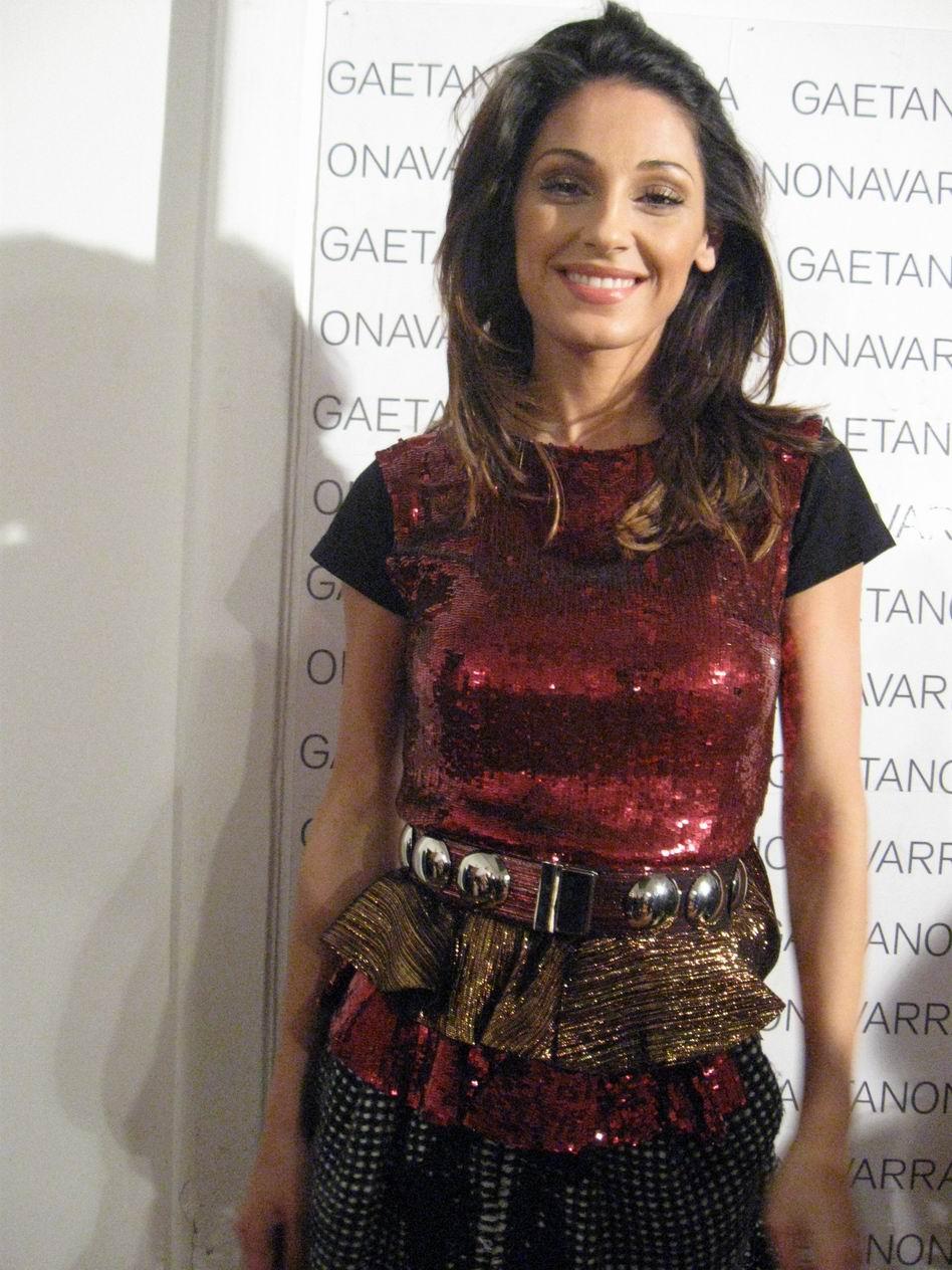 Anna Tatangelo in Gaetano Navarra